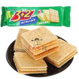 125g康师傅3+2饼干葱香奶油味